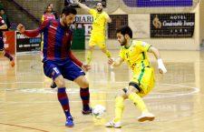 Una Salobreja repleta vibra con el Jaén FS ante el Levante