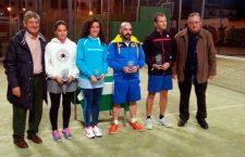 Más de sesenta jugadores participaron en el Jaén Tenis Tour