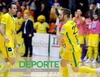El Jaén FS se lleva un igualado enfrentamiento ante el Catgas