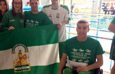 Buenas marcas de Fernando Moya en el Nacional de promesas de natación paralímpica