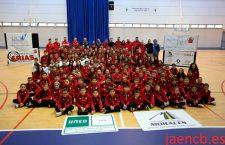 El CB Jaén presentó a sus equipos de la temporada 2016-17