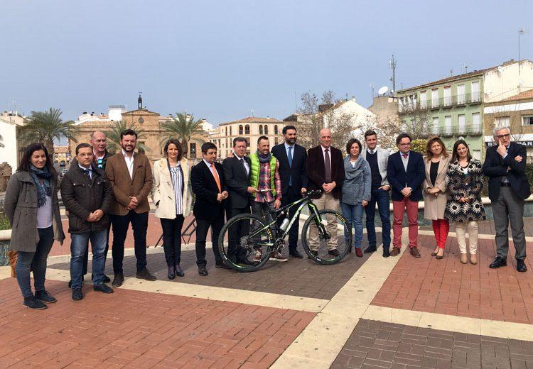 Linares acoge la presentación de la Andalucía Bike Race presented by Shimano