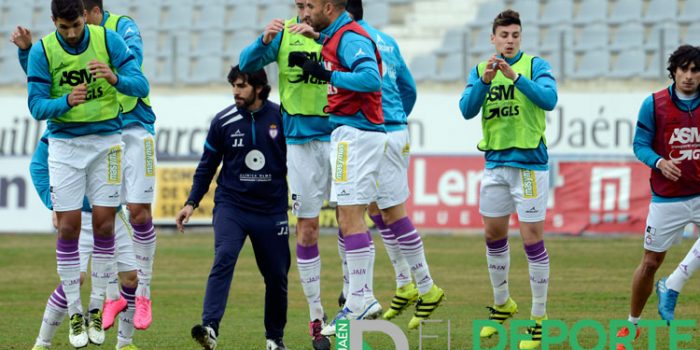 El Real Jaén se prepara para recibir al Mérida el próximo domingo