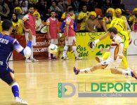 El Jaén FS sufre y golea al Cartagena