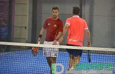 Muñoz y Ayllón han protagonizado uno de los partidos más interesantes de la jornda.