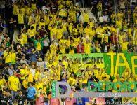 La afición en el Quijote Arena (Jaén FS-Movistar)