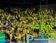 La afición en el Quijote Arena (Jaén Paraíso Interior – Peñíscola)