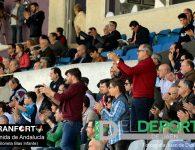 La afición en La Victoria (Real Jaén – UD Melilla)