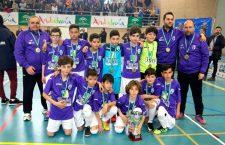 La selección de Jaén, subcampeona del Andaluz Alevín de fútbol sala