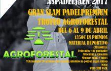 Aspadel Jaén abre el plazo de inscripción al Gran Slam Trofeo Agroforestal