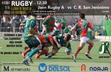 El Jaén Rugby afronta este domingo la ida de semifinales frente al CR San Jerónimo