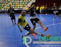 Primera jornada del Jaén Paraíso Interior FS en Ciudad Real