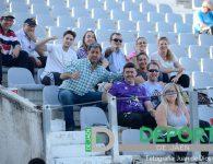 La afición en La Victoria (Real Jaén – Real Murcia)