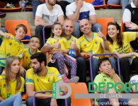La afición en La Salobreja (Jaén FS – Santiago Futsal)