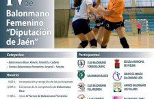 Torredelcampo acogerá el Día del Balonmano Femenino con la presencia de 450 jugadoras