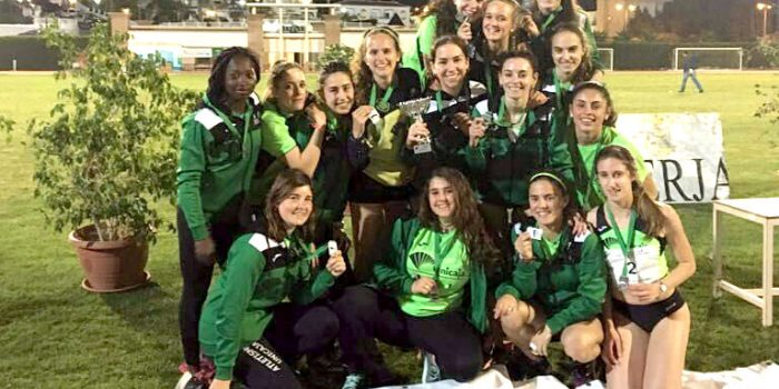 Las chicas del Unicaja Atletismo logran el segundo puesto del Andaluz Júnior de Clubes
