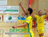 El Jaén Paraíso Interior vence con apuros al Santiago Futsal