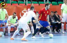 Solano se luce con la Selección Española