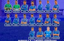 Convocatoria del Linares Deportivo para Burgos