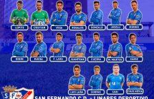 Convocatoria del Linares Deportivo para el duelo ante el San Fernando