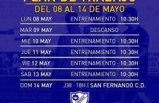 El Linares Deportivo ha vuelto al trabajo este lunes para afrontar el duelo ante el San Fernando