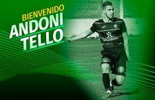 El Atlético Mancha Real refuerza su defensa con Andoni Tello