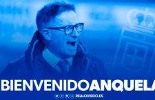 Juan Antonio Anquela se convierte en el entrenador del Real Oviedo