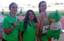 El Unicaja Atletismo logra diez medallas en el Andaluz sub'23