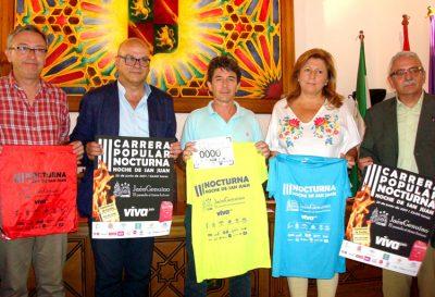 Jaén acogerá este viernes la tercera edición de la Carrera Popular Nocturna Noche de San Juan