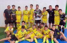 Alcaudete albergó las finales de la Copa Diputación de fútbol sala