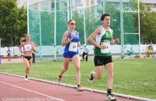 Lola Chiclana, campeona de Andalucía de Veteranos en los 5000 ml en pista