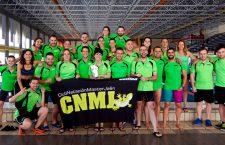 Medallas y récords para el Club Natación Master Jaén en el Andaluz Open Máster de Verano