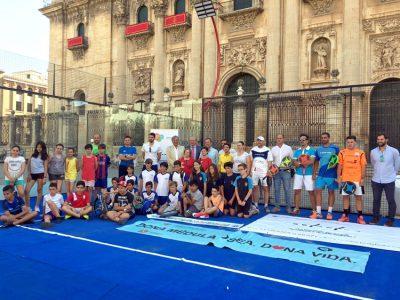 El Torneo de Pádel Benéfico sigue en marcha con el objetivo de lograr un mayor número de donaciones