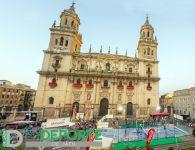 Jaén vive un Open Oro benéfico de pádel en unos escenarios únicos