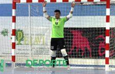 El joven guardameta Rafa López renueva con el Atlético Mengíbar FS