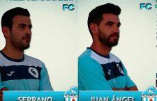 Serrano y Juan Ángel renuevan su compromiso con el Villacarrillo