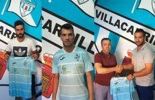 El Villacarrillo ficha a Juanjo y a Tano y revueva al goleador Miguel
