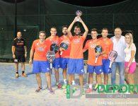 Entrega de trofeos de la Liga Provincial por Equipos Bullpadel 2017 de Aspadel Jaén
