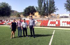 Campillo de Arenas mejora las instalaciones del campo de fútbol-7
