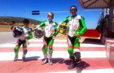 Los tres jiennenses del Deza-Córdoba logran podium en la tercera cita del Andaluz de minivelocidad