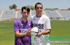 Sergio Guacho y Nando Copete, presentados como nuevos jugadores del Real Jaén