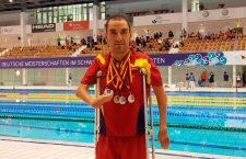 Martínez Tajuelo logra cuatro platas en el Open Internacional de Alemania