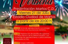 El Martos CD presentará la plantilla 2017-18 en una gala-verbena