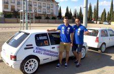 La Carolina vivió este fin de semana su primer rallycrono del Campeonato de Andalucía