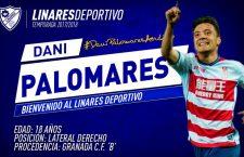 Dani Palomares y Luis Lozano refuerzan al Linares Deportivo