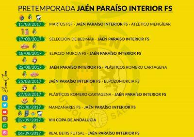 El Jaén FS planifica la pretemporada con nueve compromisos amistosos