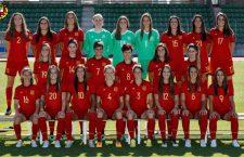 Teledeporte televisará los partidos de la Selección Femenina, que debuta este miércoles