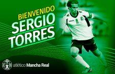 El centrocampista Sergio Torres firma por el Atlético Mancha Real