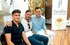 Sutil, Adrián Ruiz, Omar, Cristian y Sanabria cierran la plantilla del Martos CD