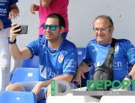 La afición en Linarejos (Linares Deportivo – UDC Torredonjimeno)